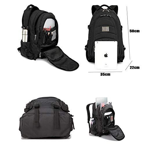 Core 29l Computer Laptop School Backpack Daypacks Bookbag College Multi Travel Backpacks Black Trekking Rucksack Bags Unisex Business Ef6wAqxO