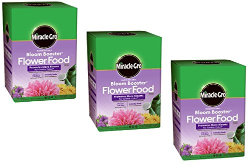Miracle GRO Garden Pro Bloom Booster 10-52-10 1 Lb. (3 Pack)