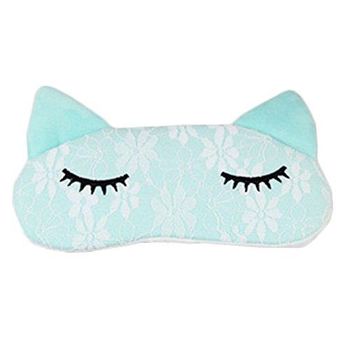 Bedtime Bliss Contoured & Comfortable Sleep Mask Eye-shade Aid-sleeping Cat Blue (Freeze Frame Eye Cream compare prices)