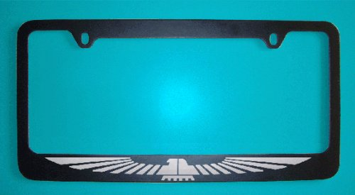 Ford Thunderbird Black License Plate Frame (Zinc (Thunderbird License Plate Frame)