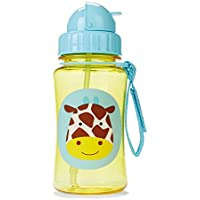 Skip Hop Forget Me Not Kid Straw Bottle, Giraffe