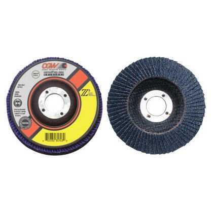 36 Pack 4 1//2,60 Grit,5//8 Arbor Z3-100/% Zirconia Regular Flap Discs 13,300 RPM,T29