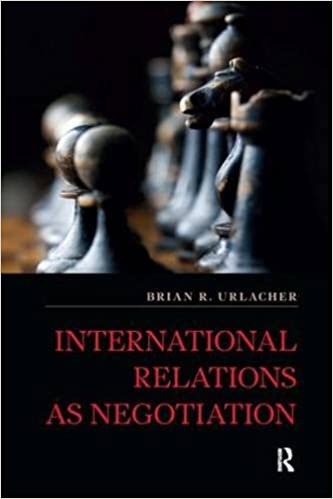 Amazon com: International Relations as Negotiation (International