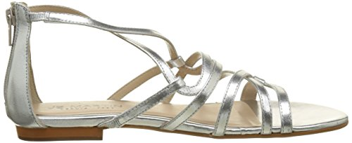 Jb Martin Women's Anora Gladiator Sandals Argent (Veau Metallic Silver) 71uRnh