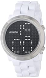 Phosphor Men's MD013G Swarovski Mechanical Digital Watch