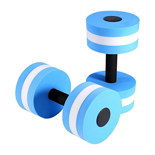 Amazon.com : New style mancuernas Dumbbells for Fitness Medium Aquatic Barbell Aqua Pool Gym weight loss Exercise equipment 1Pair : Sports & Outdoors