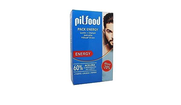 PILFOOD Pack Energy (Loción + champú anticaída): Amazon.es: Salud y cuidado personal