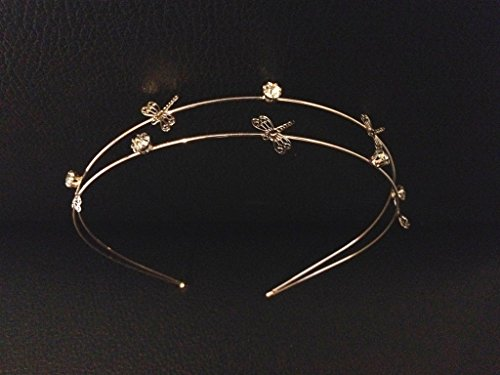 Price comparison product image 2 Layer Gold Silver Headband :SP3 (2LGBF)
