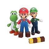 HXDZFX 9 PCS Mario and Luigi Toys Figurines – Super Mario Action Figures Toys – Yoshi & Mario Bros – Mario Toy for Boys – Premium Mario Cake Toppers Decoration