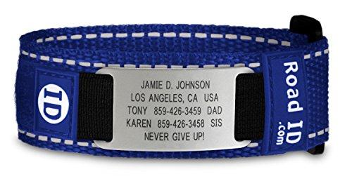 Road ID Bracelet - the Wrist ID Sport - Identification Bracelet, ID Wristband, Child ID, and Sport (Kids Id Bracelet)