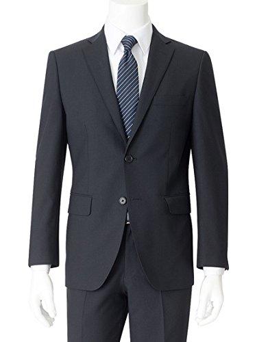 [アオキ] JW白2釦2ピース スリムノータック スーツ メンズ 870218 B079Z69M5D 日本 A 7 (日本サイズ2L相当)|ネイビー ネイビー 日本 A 7 (日本サイズ2L相当)