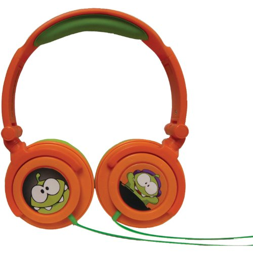 Price comparison product image Maxell 190803 Maxell Cut the Rope Headphone,  Orange