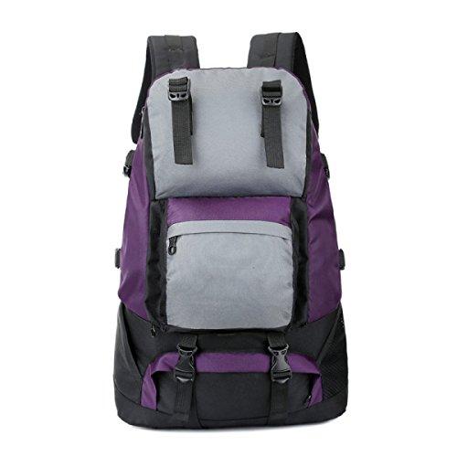 TUOZA Para Hombre De Excursión Al Aire Libre Mochila Capacidad Wlarge,Blue-OneSize Purple