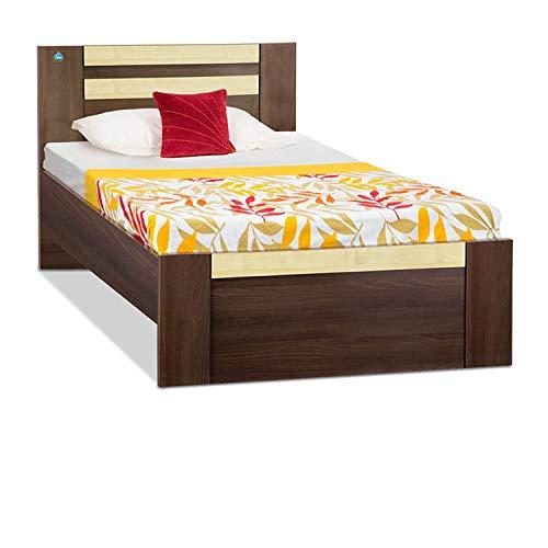 Delite Kom Woody Engineered Wood Single Bed