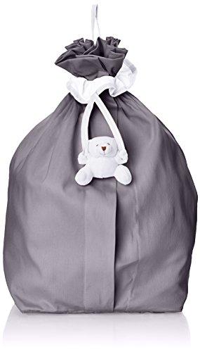 Câlin Câline Beutel mit Tüchern und Pyjama Harry, Weiß / Anthrazit