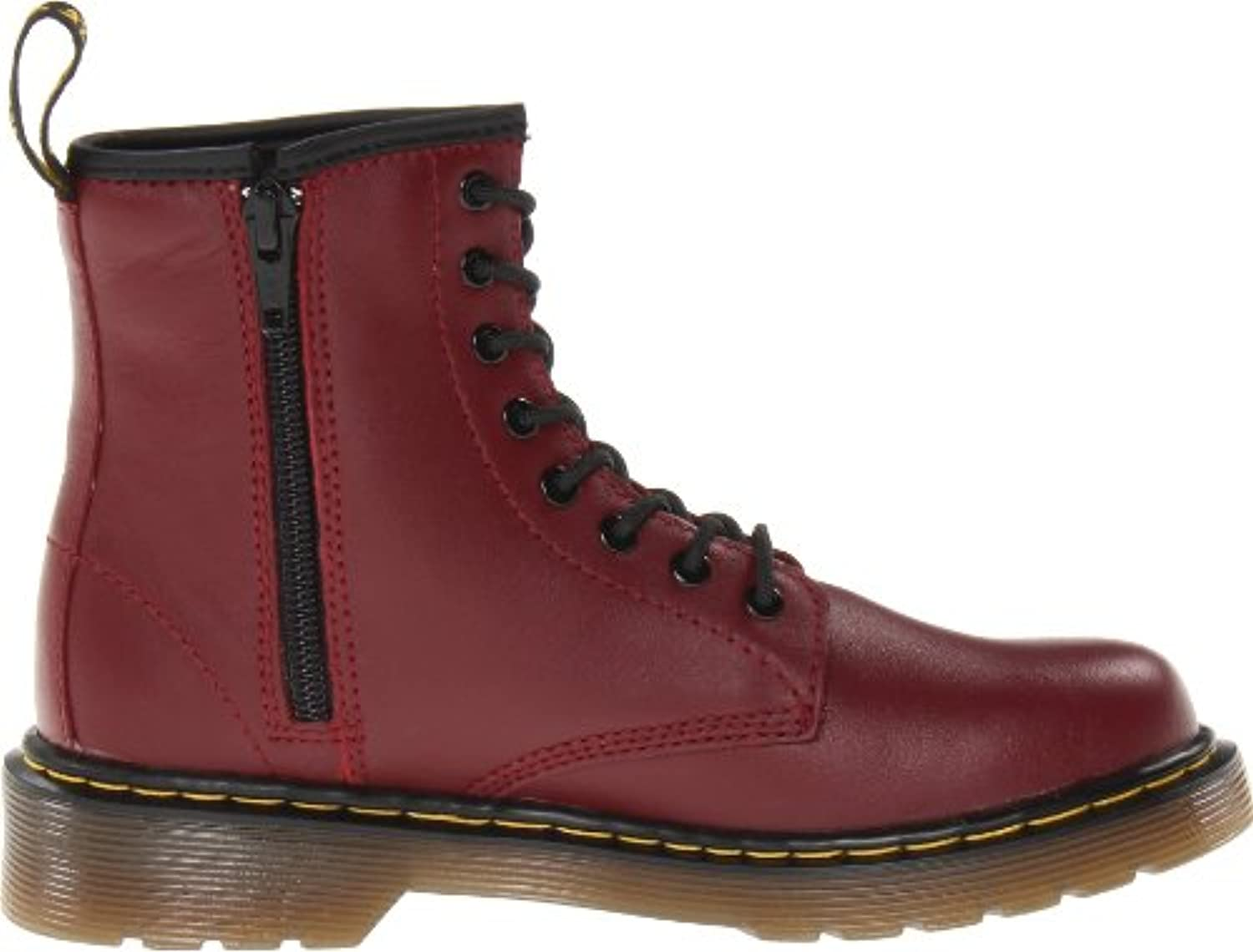 Dr. Martens Delaney Softy T Cherry Red, Unisex Kids' Boots, Red (cherry Red), 1UK (33 EU)