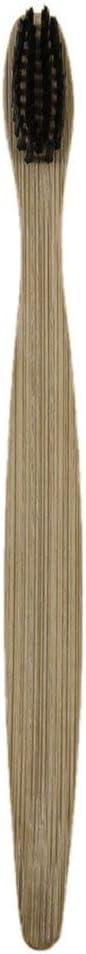 Hehilark 3pcs Set Poign/ée en Bois de Fibre de Bambou Molle de Fibre de Bambou Douce de Brosse /à Dents en Bois Favorable /à lenvironnement /écologique Qui respecte lenvironnement