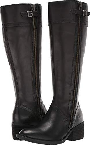 Born Women's Poly Wide Calf Black 7 M US (Boots Born Men)