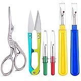 Craft Scissors With Sharpener Caps