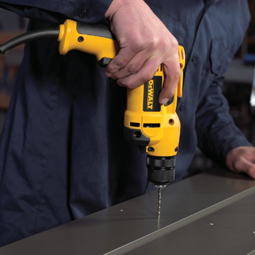 DEWALT DWD112 8.0 Amp 3/8-Inch VSR Pistol-Grip Drill with Keyless All-Metal Chuck by DEWALT (Image #1)