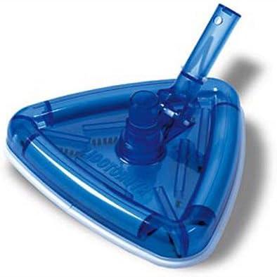 Hydrotools Triangular giratorio Cabezal de aspirador con cepillos para la limpieza de piscina: Amazon.es: Jardín