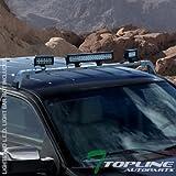 99 grand cherokee roof rack - Topline Autopart Silver Deluxe Rota Roof Light Lamp Bar Mount + Gutter-less Brackets Kit 223411 For 98-00 GMC C10 Pickup/C/K 1500 2500 3500/92-99 Suburban/Yukon/93-98 Jeep Grand Cherokee