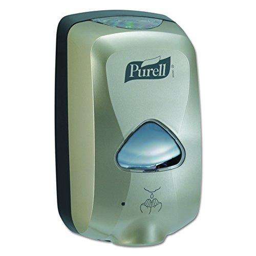 PURELL 278012 TFX Touch Free Dispenser, 1200mL, Nickel