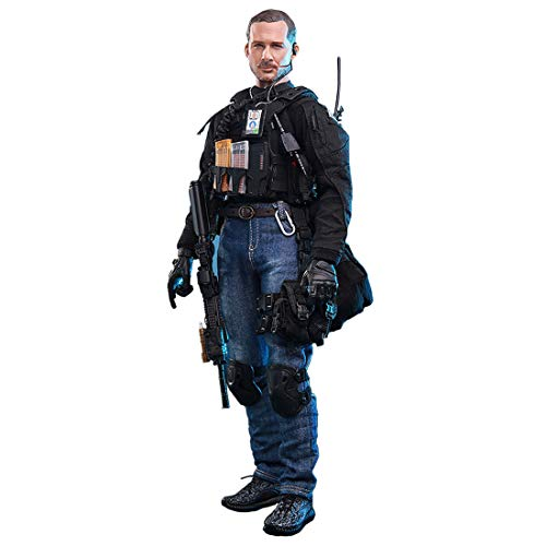 Haoun 1/6 Scale 12 Inch Army Military Soldier Action Figure Flexible Model with Accessories Collection Military Toys for Kids Adults
