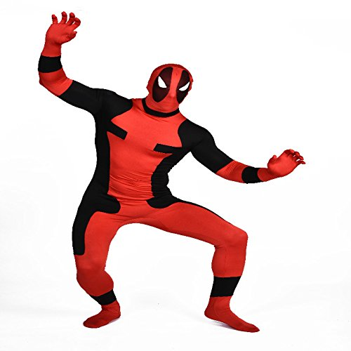 Kids Deadpool Lycra cuerpo completo ajustados traje de ...
