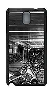 Fashion Style With Digital Art - Bicycle Parking Skid PC Back Cover Case for Samsung Galaxy Note 3 N9000