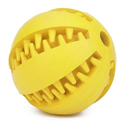 Pet Dog Toys Extra-Tough Rubber Ball Toy Funny Interactive Elasticity Ball Dog - Kids Pug Pully Toys