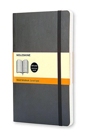 Moleskine Klassisches Notizbuch Pocket, Softcover, liniert, schwarz
