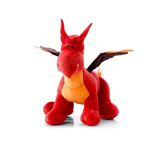 NICI Dragón de Fuego de pie, Color Rojo, 30 cm (40782): Amazon.es: Juguetes y juegos