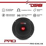 """DS18 PRO-GM6B Loudspeaker - 6.5"""", Midrange, Red"""