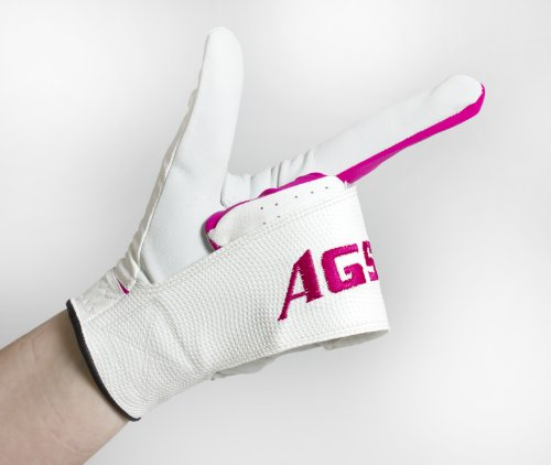 Golf Training Glove for Women with All Weather AAA Cabretta Leather, Velcro Knuckle and Adjustable Strapping System. Aids Swing, Minimizes Hooks & Slices, Reduces Muscle Strain and Allows for a Secure, Stronger Grip. 1 Year Guarantee.