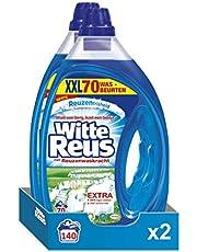 Witte Reus Gel Vloeibaar Wasmiddel, Witte Was, Voordeelverpakking - 140 (2 x 70) Wasbeurten