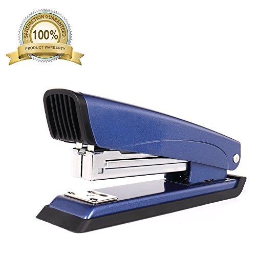 Desk Stapler, Standard Sumcool, Heavy Duty, Reduced Effort, 20 sheet capacity (55C4-Blue) (Classic 2 Heavy Duty Stapler)