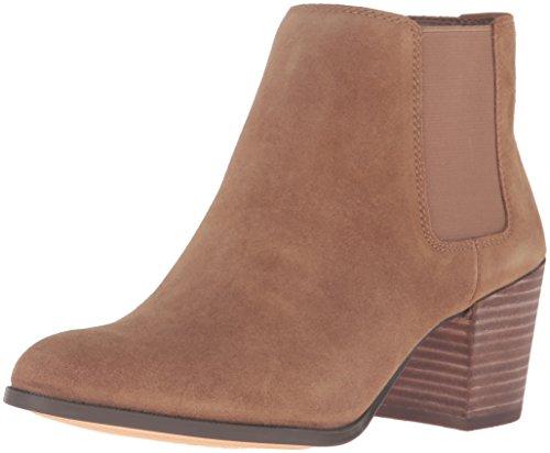 Anne Klein Donna Geordanna Suede Chelsea Boot Medium Naturale