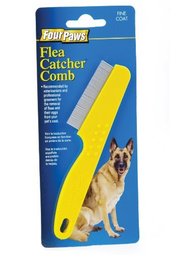 Four Paws Magic Coat 1 Row Flea Comb, Plastic