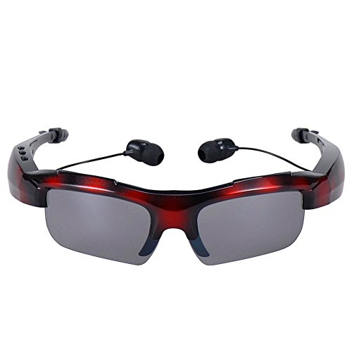 Sunglasses Bluetooth 4.1 Headset, Wireless Stereo Headphone In Ear Earbuds Business Driving Hands-free Music Talking Earphone for iPhone 7 7 Plus 6 6S iPad Samsung HTC Nokia Laptop (Camouflage - Cent Sunglasses 50