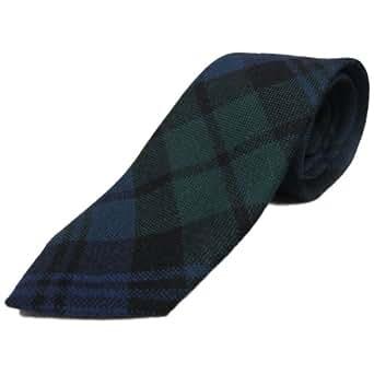 Corbata estilo tart�n para ni�os - 100% lana - Black Watch