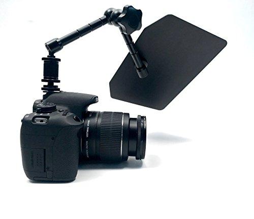 Glide Gear LS 100 Video Camera Adjustable Flexible Articulating Lens Flare Hood Flag / Shade 11