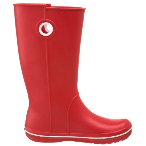 color Crocs Women de Rojo Jaunt Botas agua Crocband Black Red nw7wCHq4gx