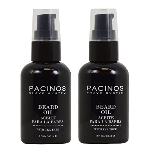 Pacinos Shave System Beard Oil 2oz 'Pack of 2'