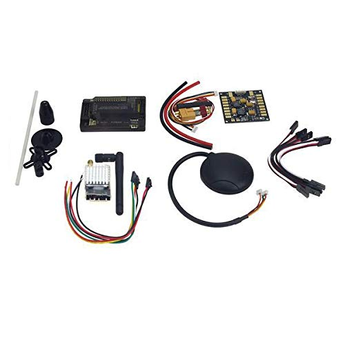 Yoton Accessories F15441-C APM2.8 Flight Control with Compass,6M GPS,Power Distribution Board, GPS Folding Antenna, 5.8G 250mW TX for DIY Drone
