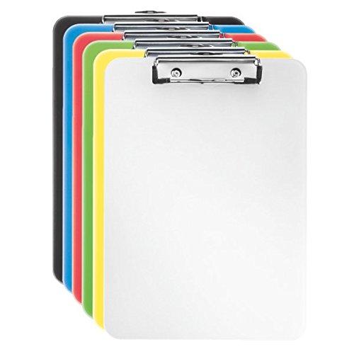 Esselte 624054 Portablocco Vivida, Traslucido Accessori per ufficio; Archivio documenti; Portablocco; Archiviazione; Organizzazione ufficio; Accessori per scrivania; Portadocumenti;