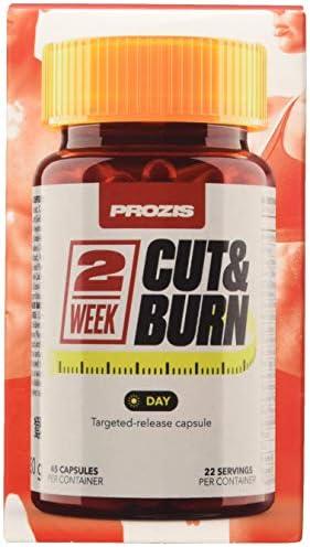 Prozis 2 Week Cut & Burn, Día - 45 Cápsulas