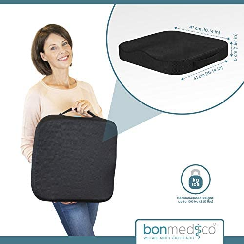 Amazon.com: Bonmedico Comfort - Cojín, S: Health & Personal Care