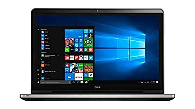 2017 Dell Inspiron 17.3 Inch Full HD (1920 x 1080) Touchscreen Signature Edition Laptop, Intel Core i7-6500U 2.5 GHz, 16GB DDR4, 1TB HDD, DVD +/-RW, 802.11AC, Bluetooth, HDMI, Win 10 - Silver by Dell Computers