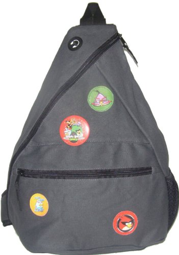 Essfil Angry Bird Space Tuition Bag, Gray